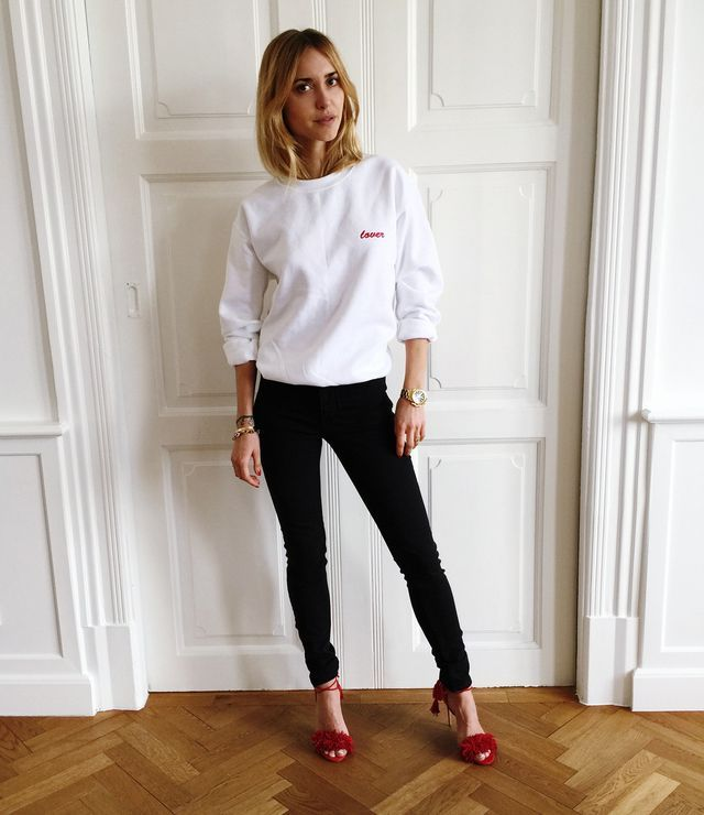 The Perfect Casual Combo Taken From The 80's (Pernille Teisbaek)