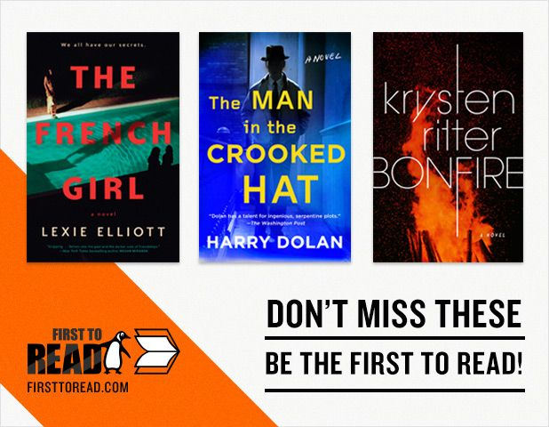 Sign up on First to Read for a chance to read these great new books before they release!