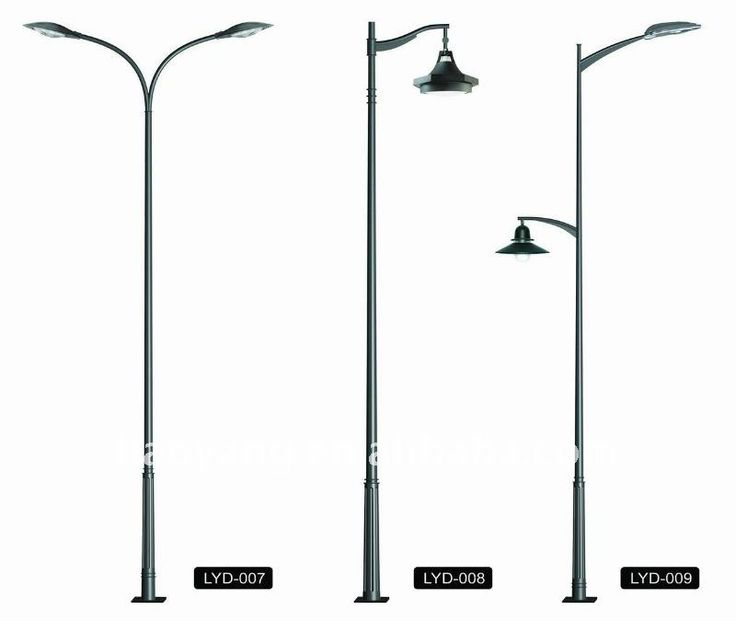 Light Pole Design: Conical Street Lighting Pole Price. Love The One In The