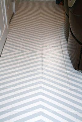 how to paint tile floors – a tutorial
