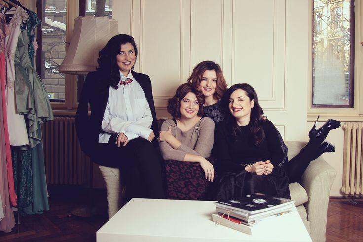 From left to right: Diana, Florina (Josephine), Flo (DB), Adriana