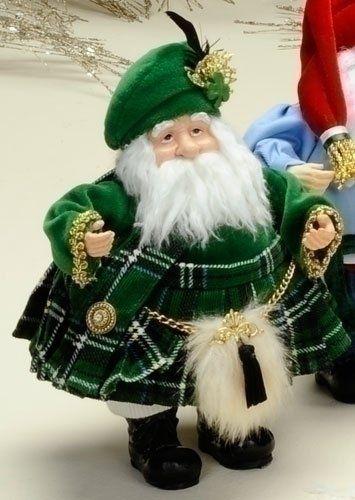 Kilts Irish And Christmas Figurines On Pinterest