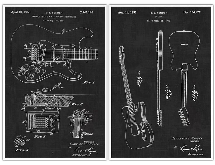 "Fender Guitar Poster, Fender Guitar, Guitar Art, Guitar Player Gift, Electric Guitar, Patent Prints, Guitar Poster - set of 2 Fender Guitar Posters. Decorate your home or office and get inspired with Patent Poster Prints! These are awesome posters of inventions that have changed our lives throughout history. These poster prints are easy to frame and hang in your own home or perfect to give as a gift! Paper Size: Approximately 18"" x 24"" or 24"" x 36"" Framing your Poster: You may need to…"