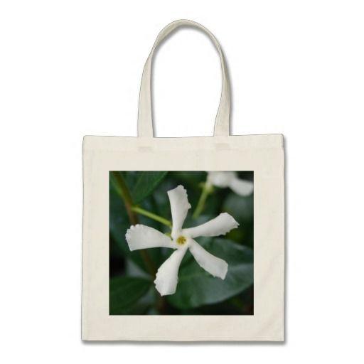 Star Jasmine Tote Bag