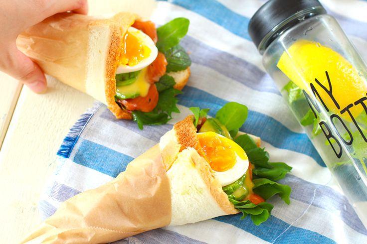 エッグベネディクトも片手で食べられる! 今年流行の「ワンハンドフード」の簡単レシピ3選