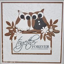stampin up owl punch wedding card - Google Search
