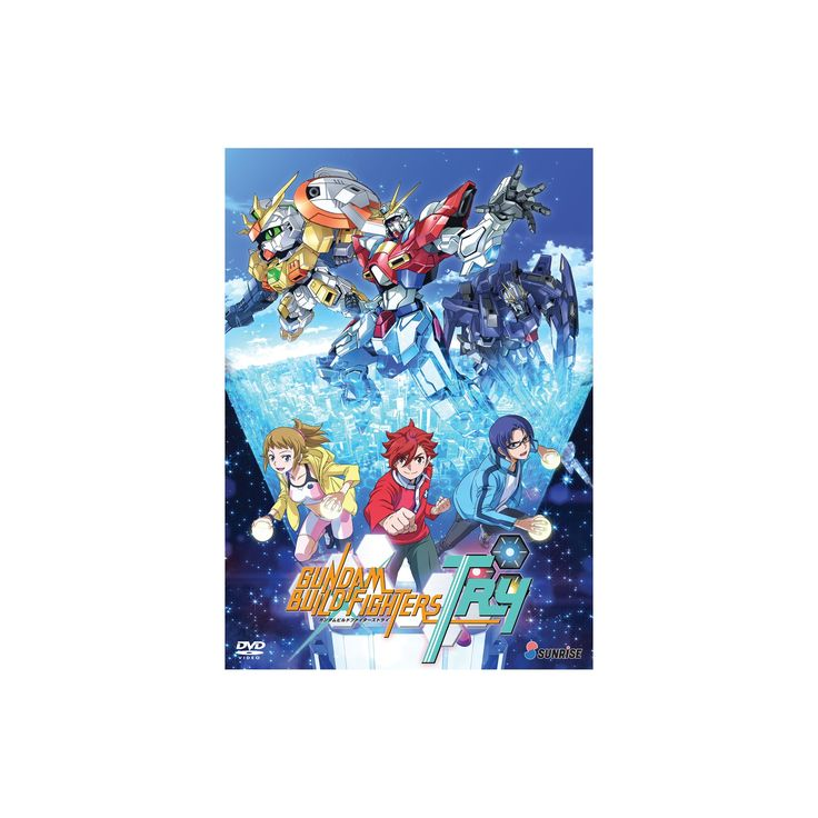 Gundam build fighters:Try complete dv (Dvd)
