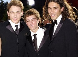 James, Dave, and Tom Franco. Babies!