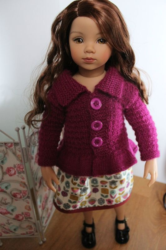 Tuto gilet pour poupée Gotz ou Maru poupée de 52 cm
