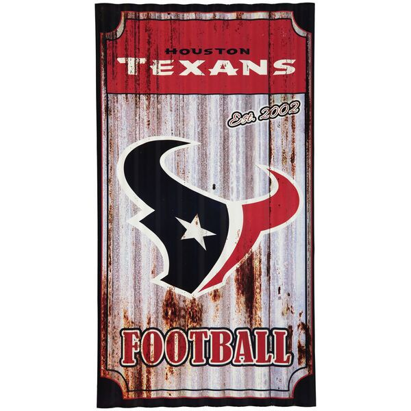 "Houston Texans 21.5"" x 12"" Corrugated Metal Wall Art - NFLShop.com 35USD"