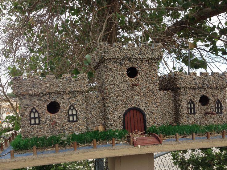 Castle Bird House