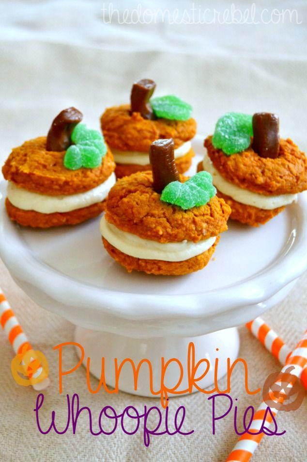 ... Recipe | Pumpkin Whoopie Pies, Whoopie Pies and Cream Cheese Frosting