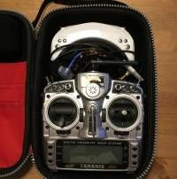 Transmitter suitcase Dimension: 33  x  23  x 13 cm Suitable for Frsky, Walkera, RadioLink, JR 28X, XG11MV, FlySky transmitters