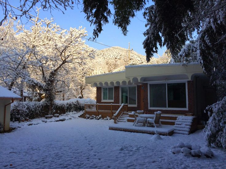 The Damyang House: snow storm