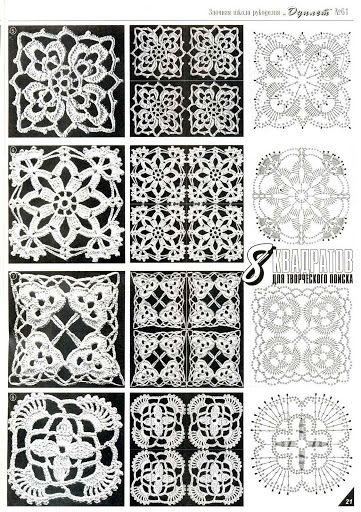 More pretty motif patterns