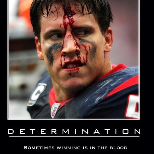 Best picture ever! Brian Cushing is a boss!!!!!