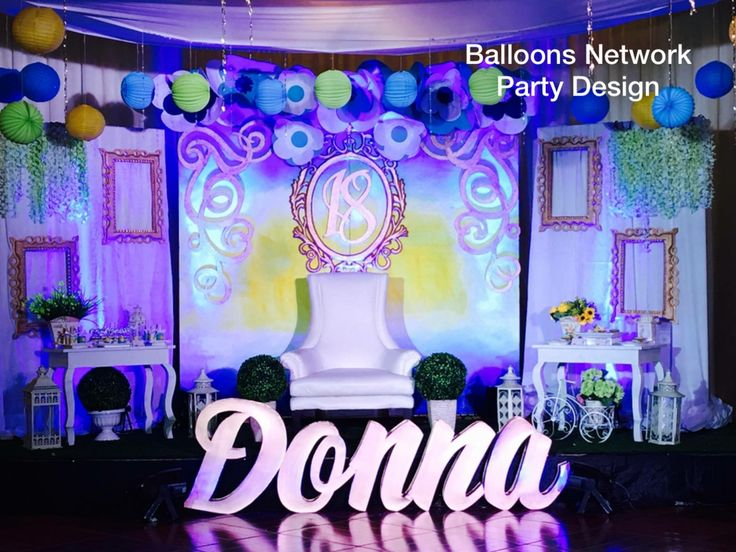 Diy Decorations for Debut Party