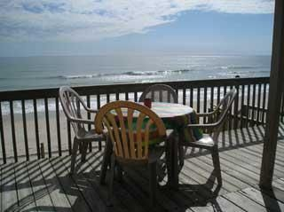 """Oceanfront Beach House. *********************************************************************** This cozy 4 bedroom 2 bath oceanfront cottage hosts an """"H"""" fl..."""
