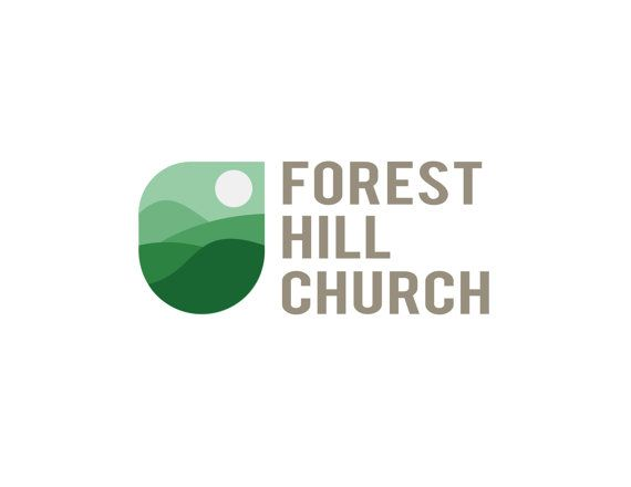 Premade Logo. Church Logo. Forest Design logo by JustAddTeaDesigns