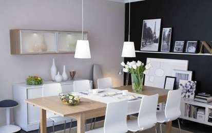 Abbinare tavolo e sedie - Sala da pranzo moderna