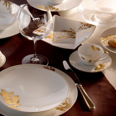 Bernardaud vegetal gold dinnerware www artedona com