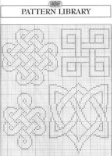 Celtic motifs 1 free cross stitch pattern