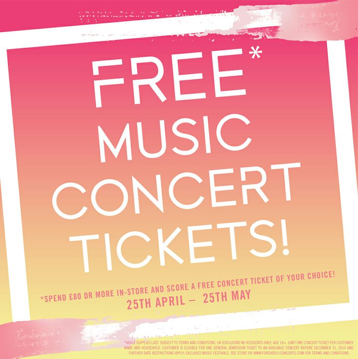 The 25+ best Free concert tickets ideas on Pinterest Concert - concert ticket birthday invitations