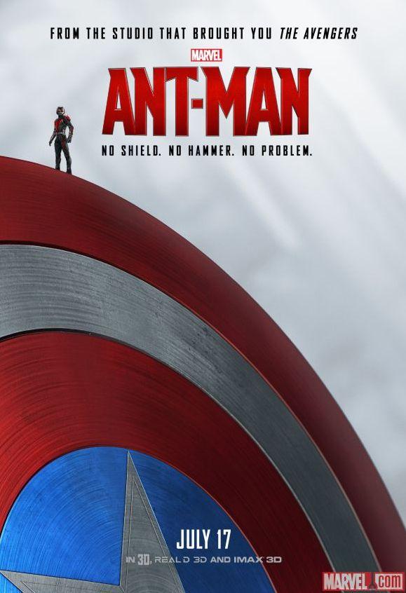 Ant-Man poster variant: Captain America