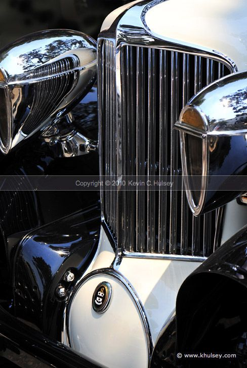 Vintage Car Front Grill from 1930 Cord L29