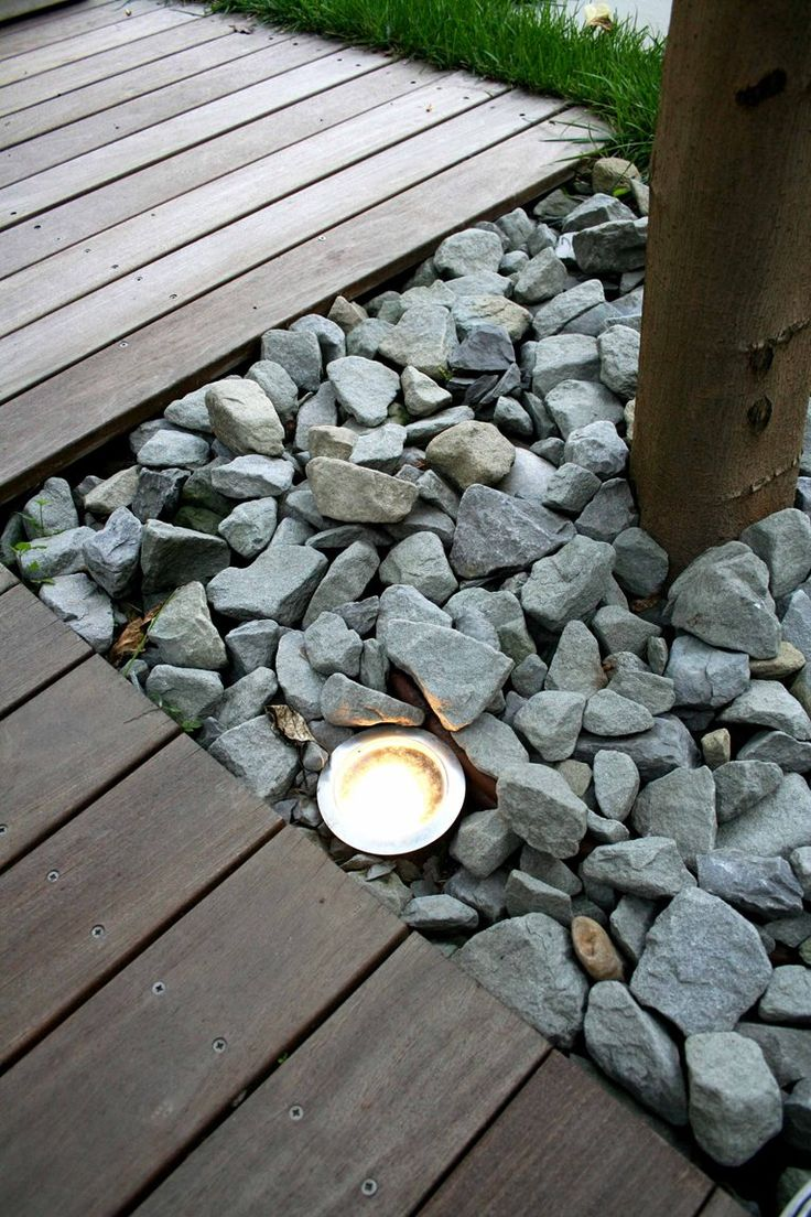 terrasse - outdoor lighting - interior design - modern