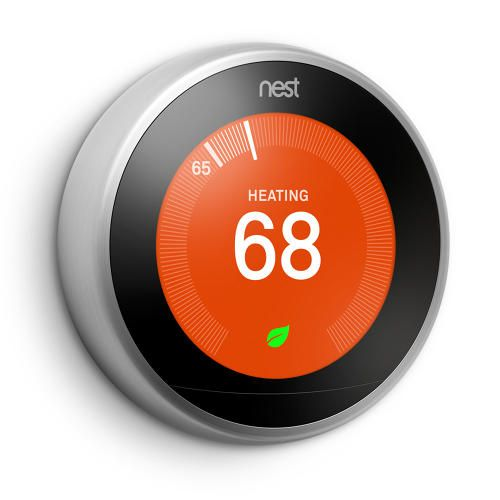 Thermostat | Nest - Got to play with the 2nd gen. one of these and they really are lovely. Nice progression here to gen. 3