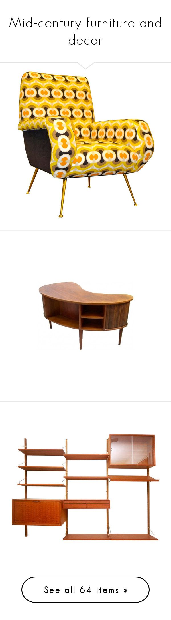 Mid century furniture and decor by snowbirdy on Polyvore featuring home   furniture  chairs. The 25  best Second hand chairs ideas on Pinterest   Second hand