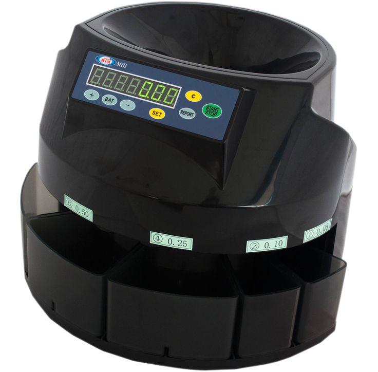 HTM Mill 2 hızlı bir şekilde bozuk para sayma ve ayrıştırma makinesidir. Diğer modellere oranla yaklaşık 2 kat daha hızlı bozuk para saymaktadır.