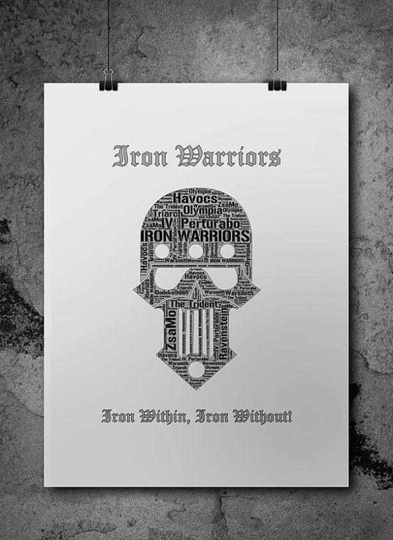 Iron Warriors Pre-Heresy Warhammer 40K by ZsaMoDesign: