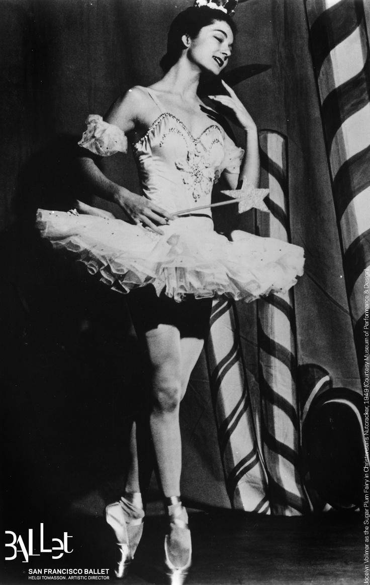 Jocelyn Vollmar as the Sugar Plum Fairy in Christensen's 'Nutcracker', 1949 (courtesy SF Museum of Performance & Design)