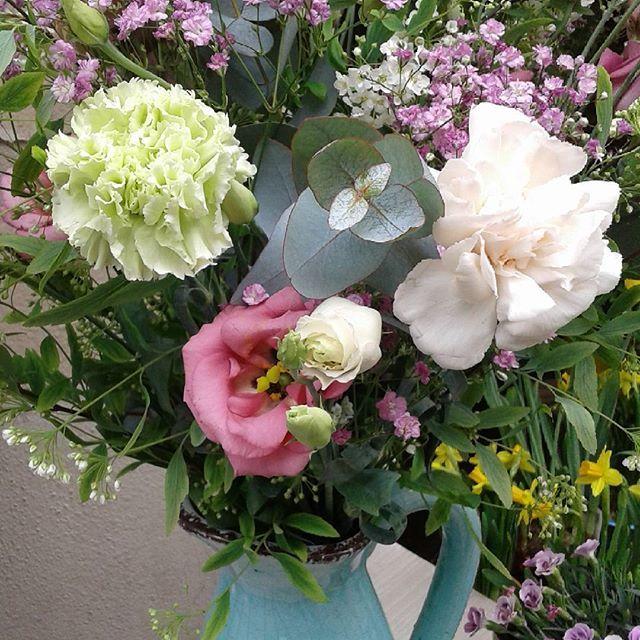 #bouquetchampêtre  #printemps #Fleuriste #paris #romantic