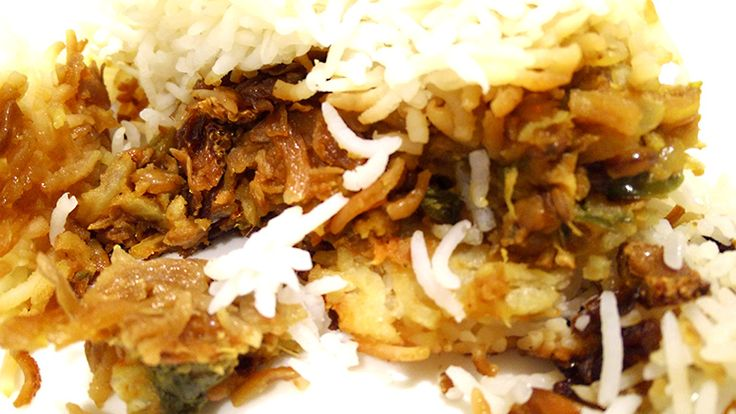 Masoor Pulao / Lentil Pilaf is traditionally served with Sarki. It's delicious and wholesome! Try our recipe!