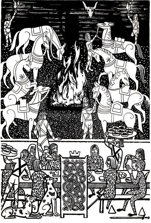 an analysis of beowulfs ideals and the dark ages Anglo-saxon society, as illustrated in the poem, was centered on a warrior chieftain and his retinue of loyal followers who were expected to defend him to the death loyalty is essential and is rewarded by the chief's generosity toward his supporters.