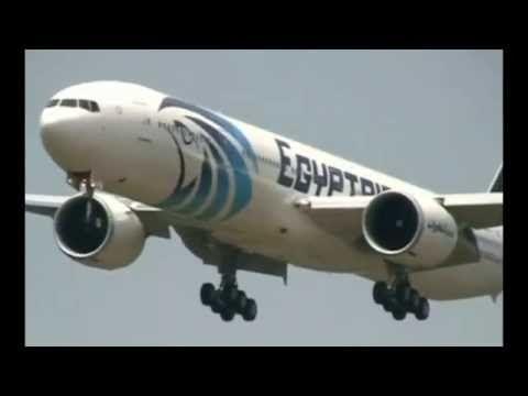 Mediterranean being scoured for Egyptair flight MS804