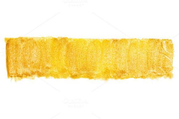 Watercolor gold golden texture