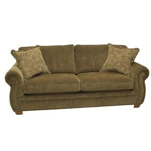 Traditional Sleeper Sofa in Cappuccino | Nebraska Furniture Mart
