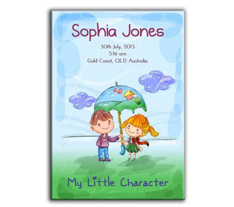 Perfect gift for mums with new bubs - your child's personality profile in a personalised book #babygiftidea #childpersonality