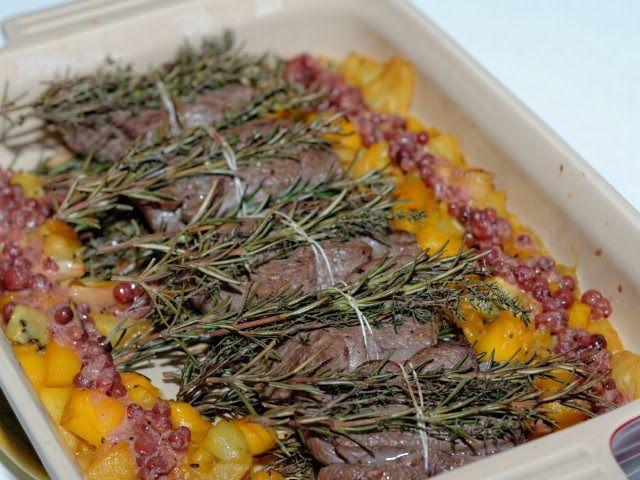 Ma Cuisine et Vous   Fagots de cerf rôtis aux herbes    Préparation: 20 minutes     Cuisson: 15 minutes      Ingrédients  (pour 6 personnes):    6 filet... www.macuisineetvous.com