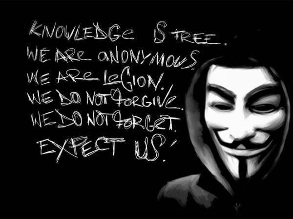Respuesta de Anonymous a capturas policiales