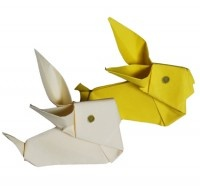 coniglio origami