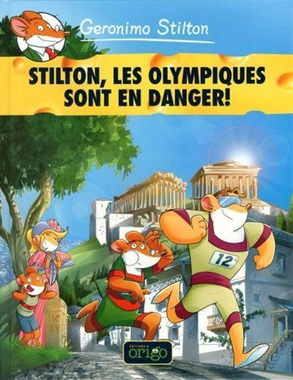 À Athènes, en 1896, on tient les premiers Jeux olympiques de l'ère moderne.  À l'aide du Catjet, les chats pirates…