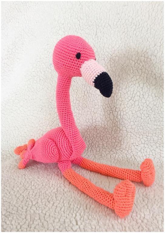 Flamingo amigurumi pattern by By Alinies - Craftsy