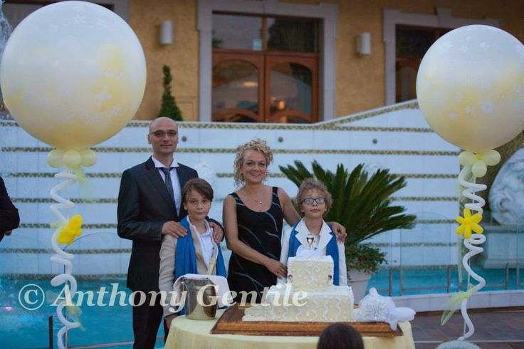 1st Holy Communion in Italy at Villa Florio http://www.villaflorioricevimenti.it