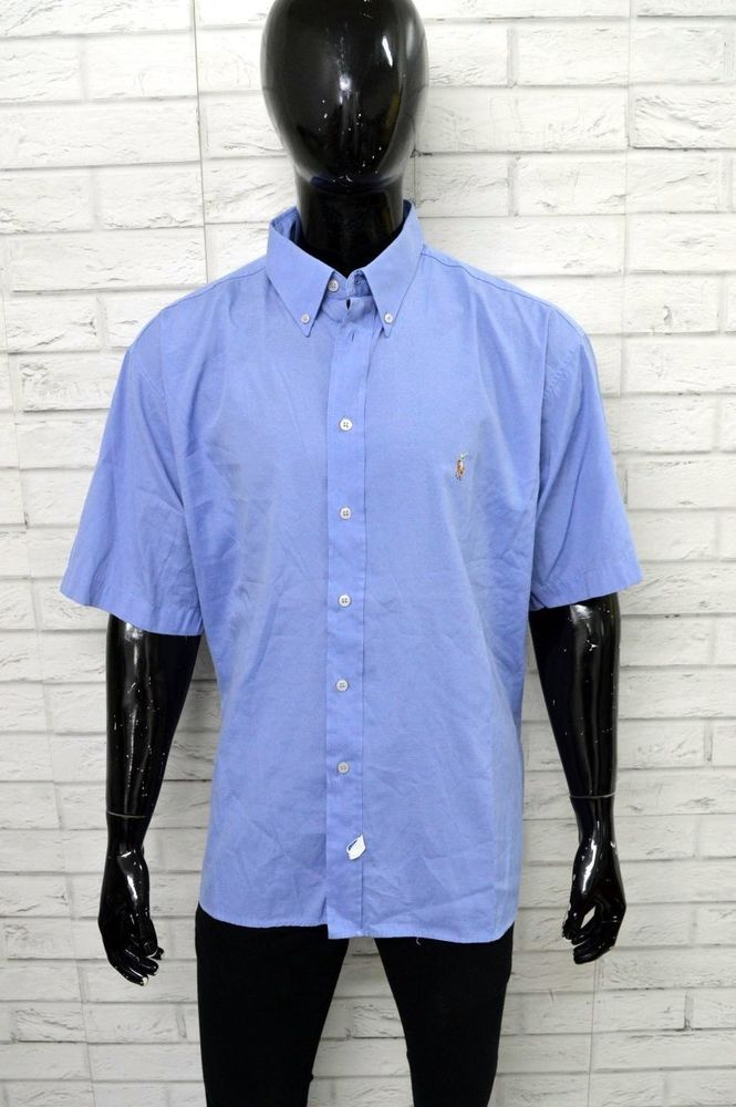 new product 73635 d9721 Camicia RALPH LAUREN Taglia Forte Size 3XL Uomo Shirt Man ...