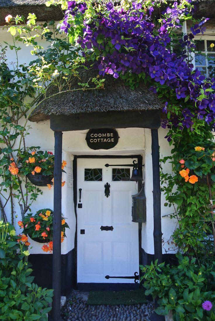 Branscombe house door